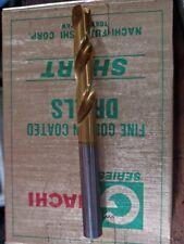 "10.0mm Nachi HSS-Co TiN Short Drill straight Shank GSS Tapping BSB BRASS 7/16"""