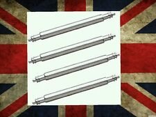 4 x 18mm Stainless Steel Watch Strap Spring Bars, Pins, lugs 18mm.