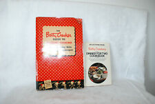 2 VINTAGE BETTY CROCKER COOKBOOKS