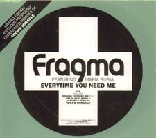 Fragma(CD Single)Everytime You Need Me CD2-New