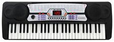 B-WARE Digital 54 Tasten Einsteiger Keyboard Piano Klavier 100 Sounds & Rhythmen