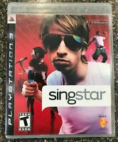 Playstation 3- SingStar PS3 Complete in Case - Clean and Tested Working