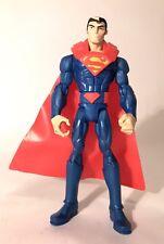 "DC Comics Justice League Superman 6"" Animated Action Figure 2012 Mattel Rare"
