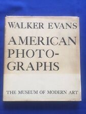 AMERICAN PHOTOGRAPHS - 1938 MOMA FIRST EDITION BY WALKER EVANS