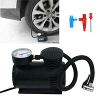 Car Tyre Air Compressor Pump Bike Cycle Compact 300PSI Electrical Inflator