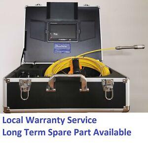 30M Cable Sewer Drain Pipe Recording Self-levelling Camera 512HZ Locator Sonde