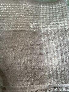 LAURA ASHLEY ANASTASIA Amethyst BED BLANKET THROW 150 X 200