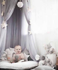 Baby Bed Crib Canopy Netting Bedcover Mosquito Net Dream Curtain Bed Tent DS