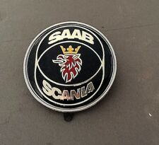 1 x SAAB/ SCANIA Blue  Front 50mm New Emblem Badge with 2 pins   9.3; 900 9000