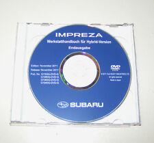 Werkstatthandbuch auf DVD Subaru Impreza - Baujahre 2008 bis 2011!