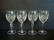 Set of 4 ~ Gorham Crystal ~ Lady Anne ~ Water Goblets~ 7 5/8 in. Ex