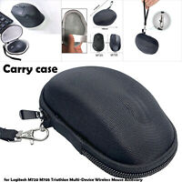 Black Mouse Storage Travel Case Carrying Cover for Logitech M720 M705 Triathlon
