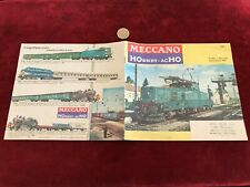 catalogue brochure de jouet N 2 meccano hornby