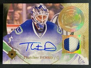 THATCHER DEMKO 2016-17 UPPER DECK ULTIMATE RPA RC PATCH AUTO PHENOMS 57/65