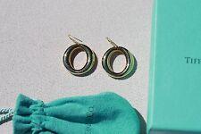 Tiffany Elsa Peretti Sevillana Earrings Spain  18k YG