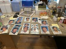 1981 Topps Giant Cards New York Yankees 5X7 photos Lot Of 21 Duplicates