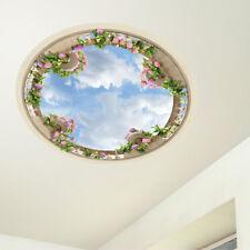 CD0028 Adesivo murale Arredo Casa Wall Art Soffitto giardino 60x60 cm