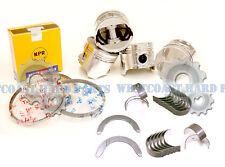 88-95 Honda Civic Del Sol 1.5L D15B2 D15B1 D15B7 Pistons Rings Main Rod Bearings