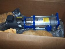 """NEW GOULDS G&L 1"""" STAINLESS STEEL VERTICAL MULTISTAGE PUMP 1/2 HP 1SVA7C2F0"""