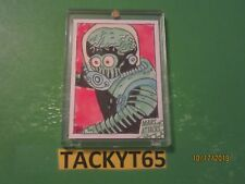 2015 MARS ATTACKS OCCUPATION AUTOGRAPHED GREEN SKETCH 1/1