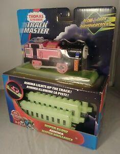 Thomas & Friends Glow in the Dark Ashima Hyper Glow Track Master NEW