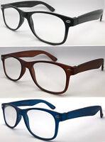 R223 (2 Pairs Only £5.69) Classic Popular Designed Plastic Plain Reading Glasses