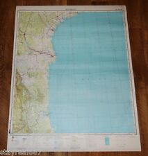 Authentic Soviet USSR SECRET Topographic Map MATAMOROS, MEXICO - USA