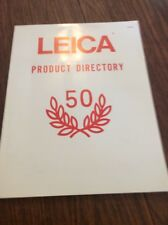 The Leica Product Directory, 50 Annivesary
