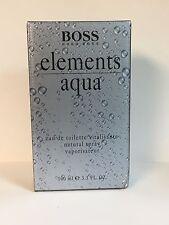 Boss ELEMENTS AQUA Hugo Boss 3.3 Oz (100ML) Eau de to