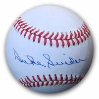 Duke Snider Signed Autographed Official NL Baseball Dodgers JSA AA53617