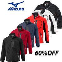 60% OFF* Mizuno ImpermaLite Flex Mens Rain Waterproof Golf Jacket- Full Zip