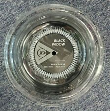 Dunlop Black Widow 18 Gauge 1.21mm 660' 200m Tennis String Reel NEW
