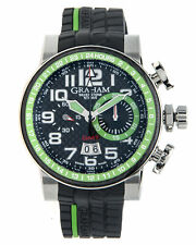 Graham Silverstone Stowe GMT Chronograph Automatic Men's Watch 2BLCH.B07A