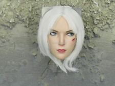 "1/6 Scale Toy ""CATCH ME"" - Female Assassin Head Sculpt w/Scar"