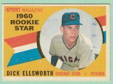 1960 Topps # 125 Dick Ellsworth - Chicago Cubs -- Box 722-193