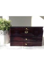 large stunning wooden jewellery box -015