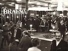 original braemar scottish  knitwear company photo 1970  - trade stand ?