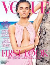 VOGUE Magazine NEDERLAND July August 2015 Nimue Smit NEW