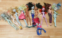 Monster High 10 Doll Lot Used + 1 Frightmare for 11 total dolls
