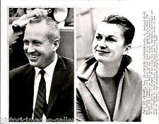 1959 Ap Wire Photo Hung Jury Murder Trial Bernard Finch Carol Tregoff