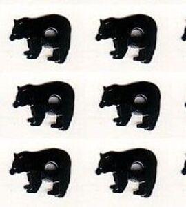 ** 8 BLACK  BEAR  EYELETS ** HOT ITEM ** BRAND NEW ** ZOO ** SEE MY STORE **