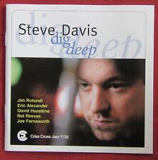 STEVE DAVIS   CD DIG DEEP