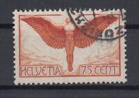 X727/ SWITZERLAND – AIRMAIL – MI # 190x USED – CV 95 $