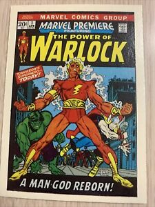 MARVEL PREMIERE #1 WARLOCK MARVEL SUPERHEROES FIRST ISSUE COVERS  NM 1984 GREAT