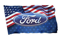 Ford Flag Banner 3x5 ft Ford Mustang F-150 Xlt Van F-Series F-250 Bronco Gt Gift