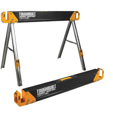 ToughBuilt Sawhorse and Jobsite Table - Twin Pack