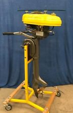 """Antique Good Year 1948 Outboard Boat Motor Engine Table Stand  """"See Bee"""" 5HP"""