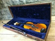 Vintage Violin, Musical Instrument Parts Repair, Fiddle Bow Carrying Case