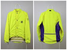 Mens Vintage 90s Castelli Cycling Jacket Team Wear Windstopper Green Size M