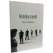 Resident Evil Biohazard the Catalysis DVD Illustrations Art Book Japan